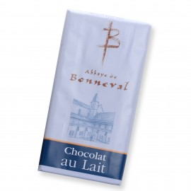 Chocolat au lait 100 g Abbaye de Bonneval