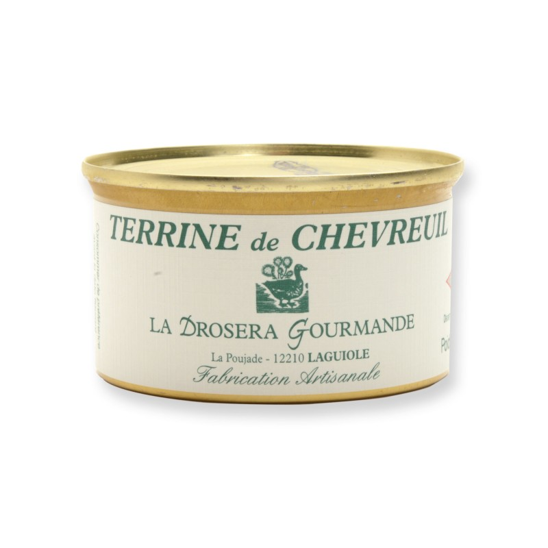 Terrine de chevreuil 130 g LA DROSERA GOURMANDE