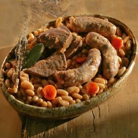 Cassoulet manchons de canard