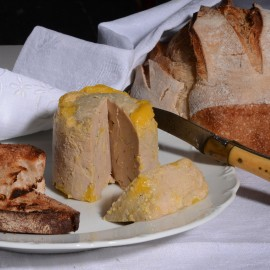 Foie gras de canard entier médaille d'or 2018 au Concours Général Agricole de Paris. Fabriqué en Aveyron