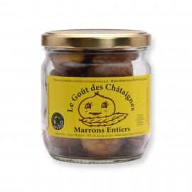Marrons entiers Fabriqué en Aveyron