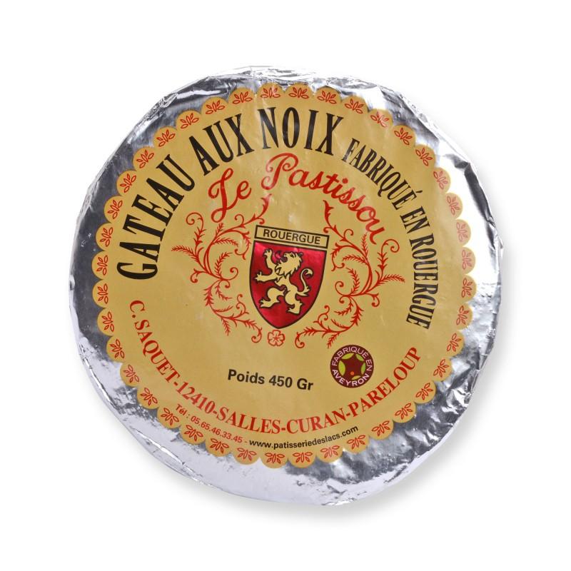 Gâteau aux noix Le Pastissou Fabriqué en Aveyron