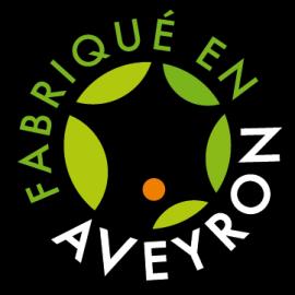Saucisse sèche de porc à l'huile fabriquée en Aveyron