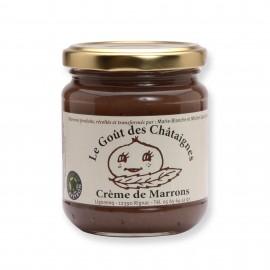 Crème de marrons 250g Fabriquée en Aveyron