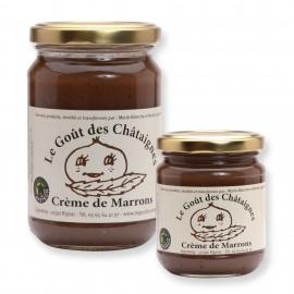 Crème de marron Fabriquée en Aveyron existe en 250g et 360g