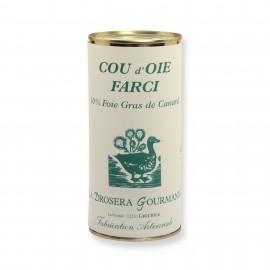 Cou d'oie farci 565 g - 10% foie gras de canard LA DROSERA GOURMANDE