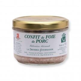 Confit de foie de porc 180 g LA DROSERA GOURMANDE