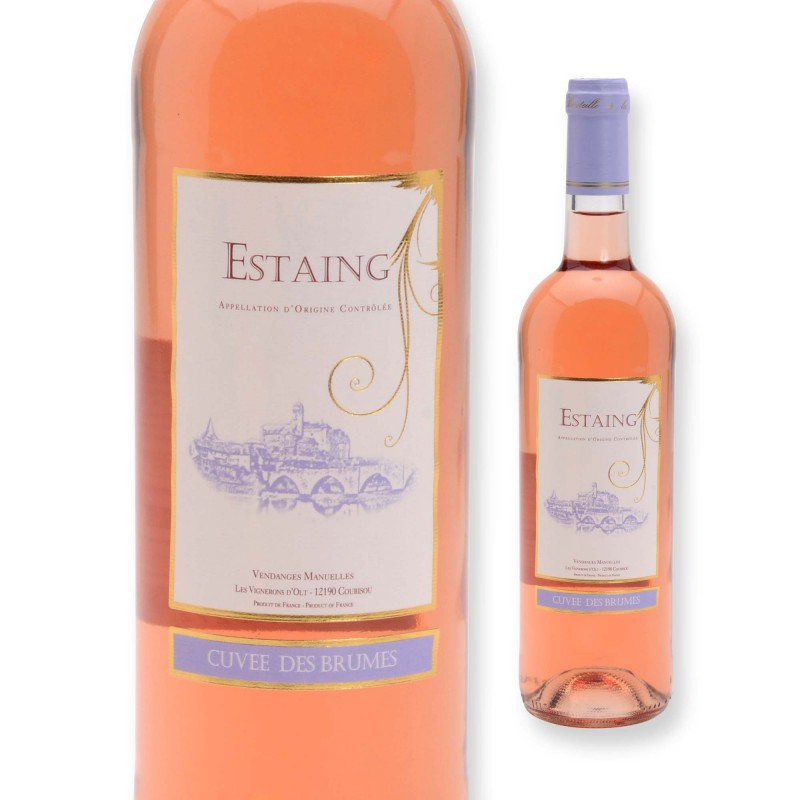 Estaing AOC - vin rosé - 75cl