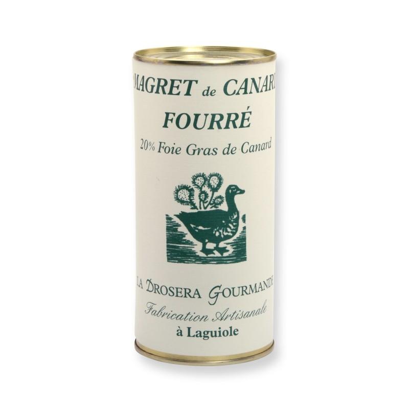 Magret de canard fourré 590 g - 20% foie gras de canard LA DROSERA GOURMANDE