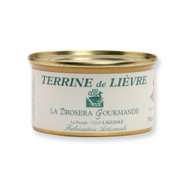 Terrine de lièvre 130 g LA DROSERA GOURMANDE