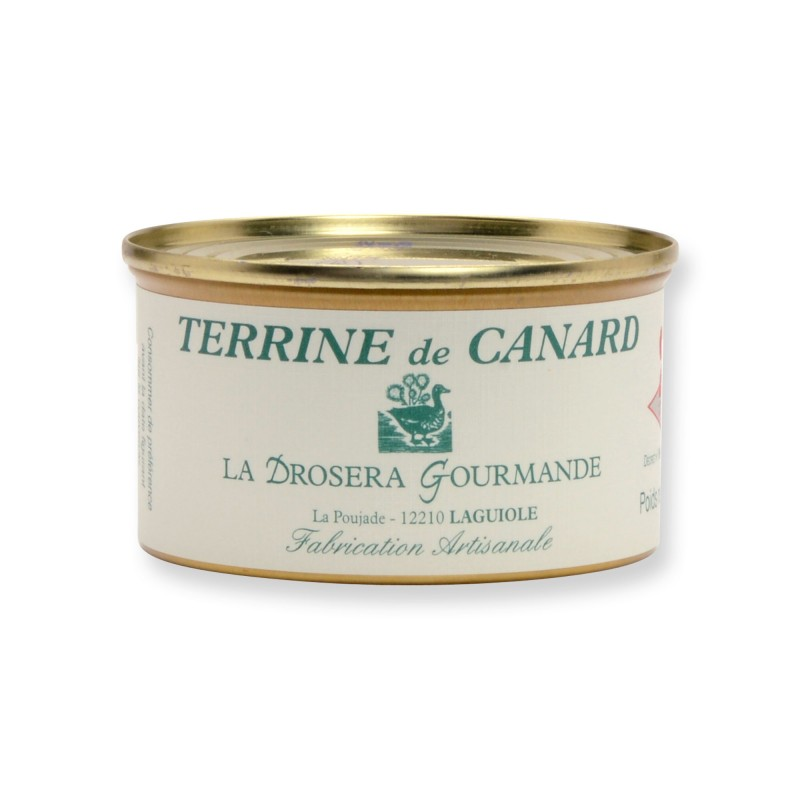 Terrine de canard 130 g LA DROSERA GOURMANDE