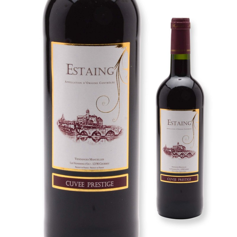 Estaing AOC - vin rouge- 75cl