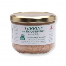 Terrine au Roquefort 180 g LA DROSERA GOURMANDE