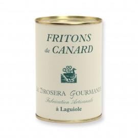 Fritons de canard 400 g LA DROSERA GOURMANDE