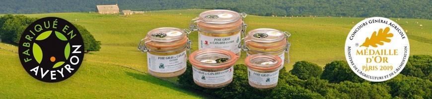 Le goût unique des produits de terroir fabriqués en Aveyron