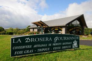Les boutiques La Drosera Gourmande