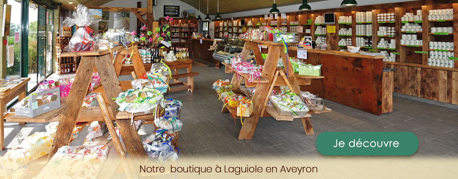 Découvrez nos spécialités régionales de terroir  si savoureuses sur le plateau de l'Aubrac en Aveyron