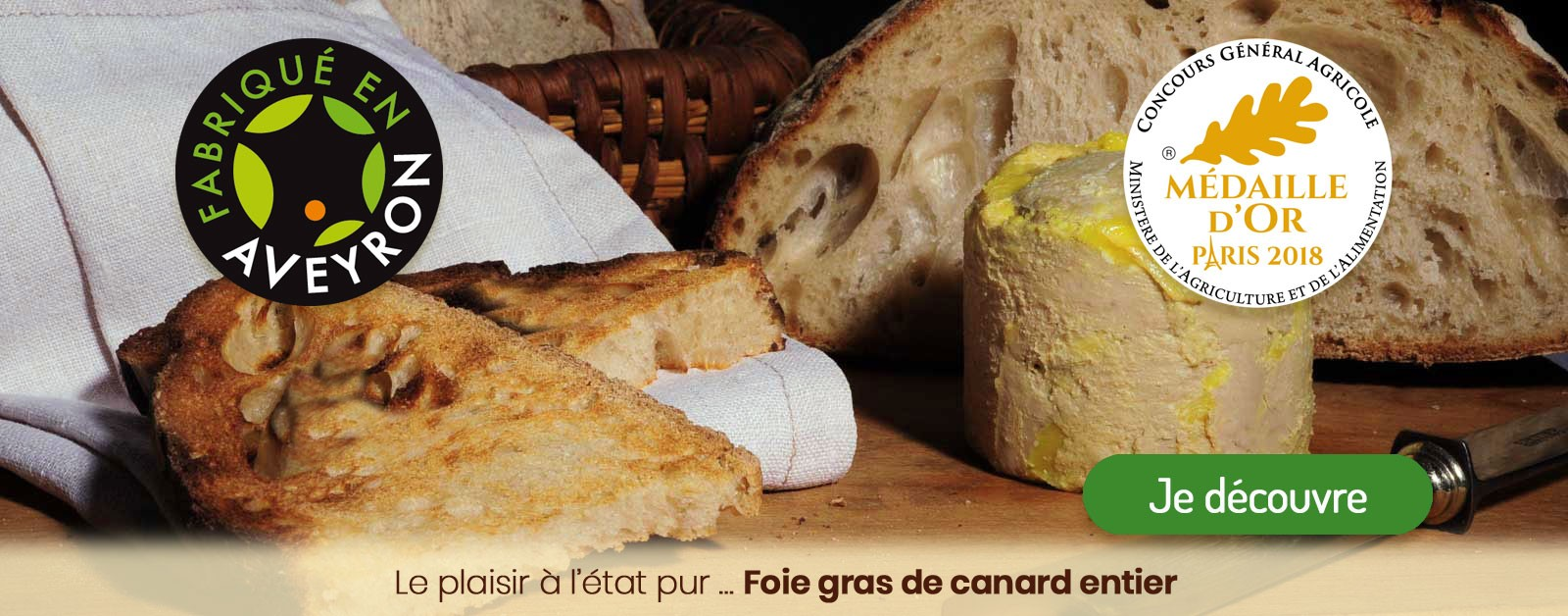 Foie gras de canard entier : le plaisir à l'état pur